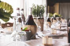 Kampanj Champagne och Rött Vin